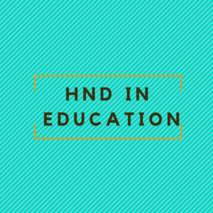 hnd in education