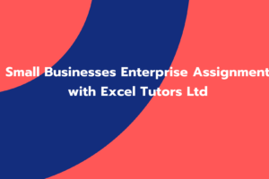 Small Businesses Enterprise Assignment with Excel Tutors Ltd