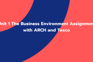 Unit 1 The Business Environment Assignment with ARCH and Tesco