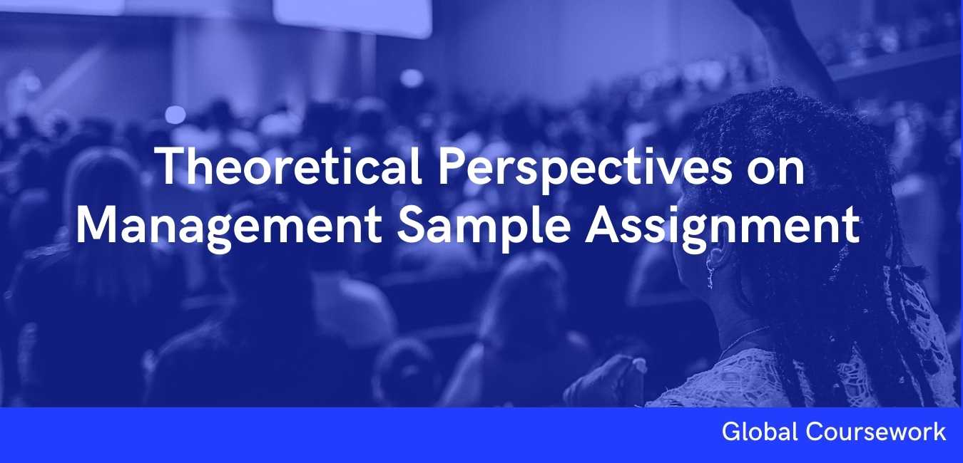 Theoretical Perspectives on Management Sample Assignment