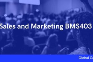 Sales and Marketing BMS403