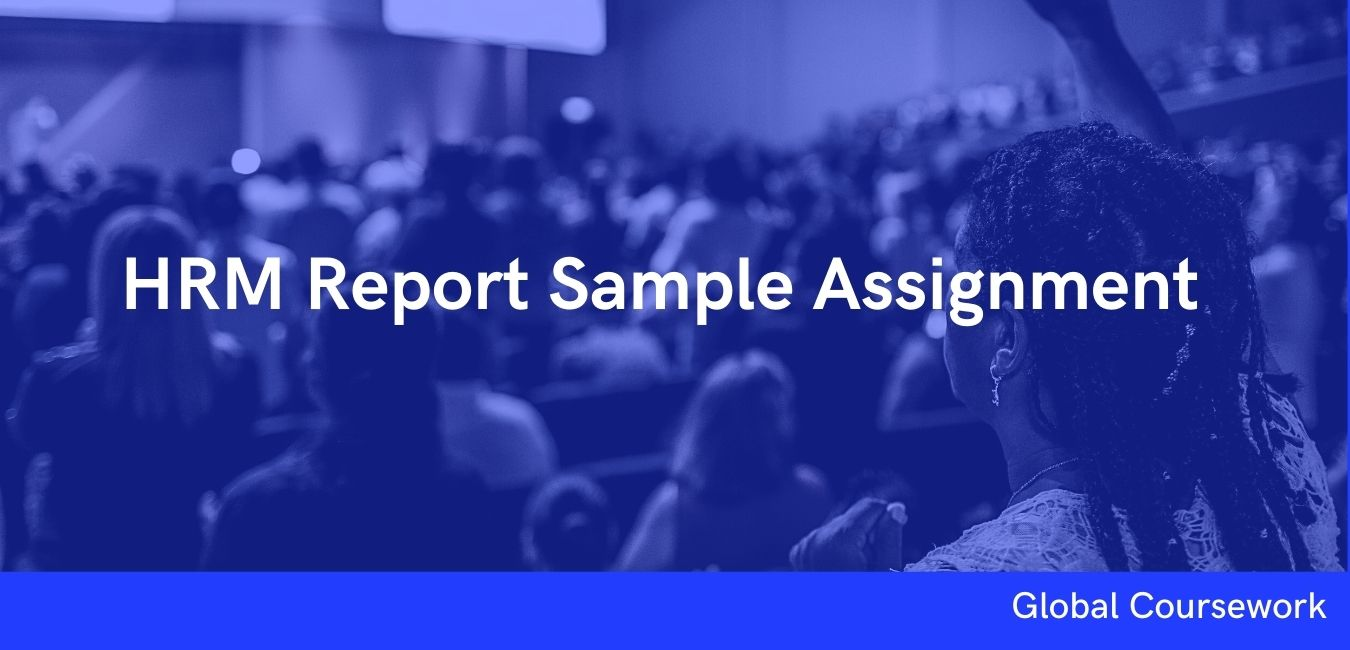 HRM Report Sample Assignment