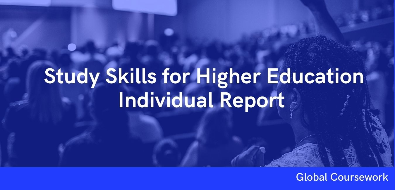 Study Skills for Higher Education Individual Report