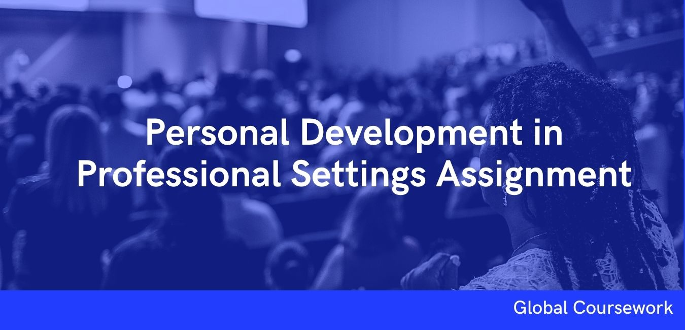 Personal Development in Professional Settings Assignment
